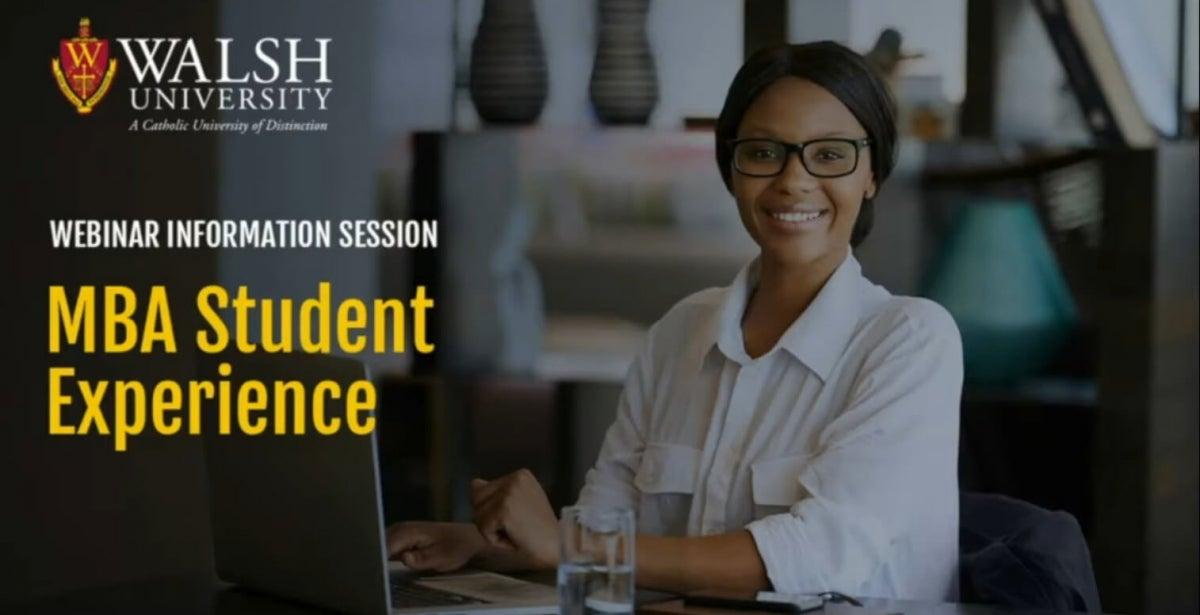 Online MBA Program Webinar